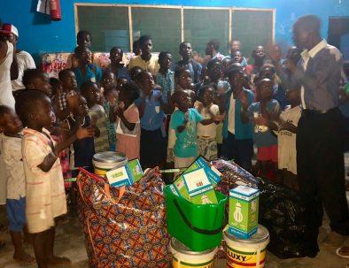 Barnhem för ensamma och föräldralösa barn