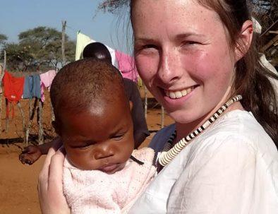 Primärvård på landsortsklinik i Omaheke i spännande Namibia