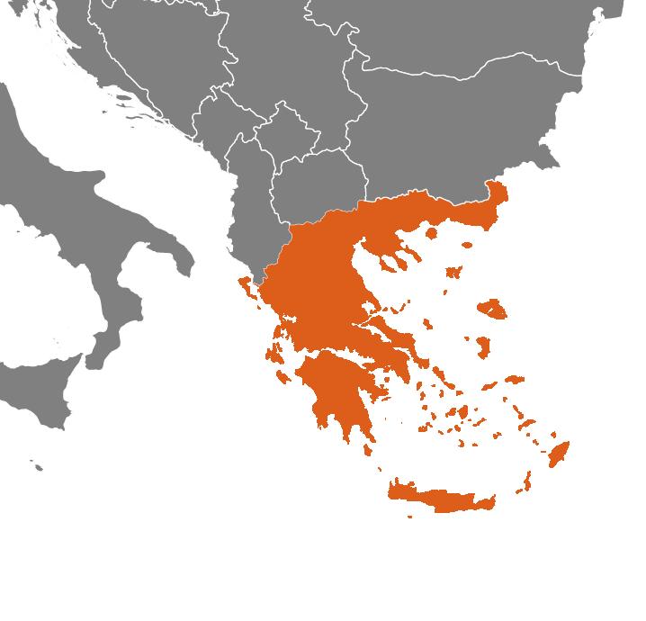 Grekland på kartan