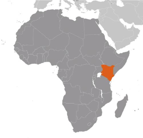 Kenya karta