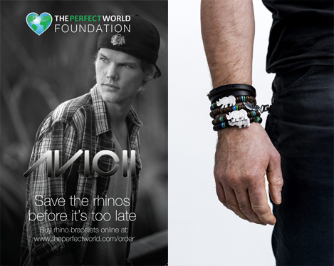 Armband för att motverka tjuvjakt i samarbete med Avicii!