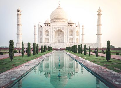 Program för Indien runt på 15 dagar